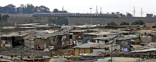 Stjwetla informal settlement in Alexandra is also populated with illegal foreigners. / Thapelo Morebudi