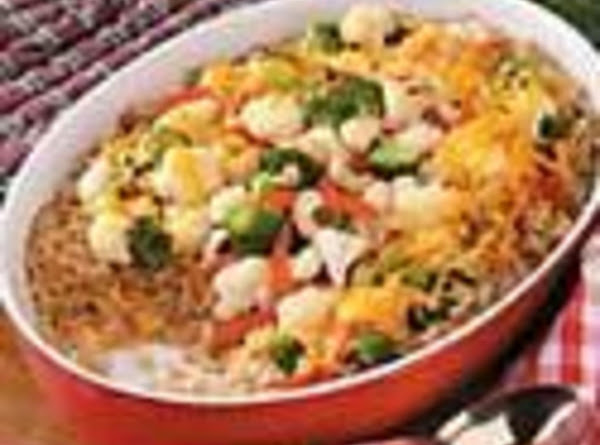 Barley Vegetable Casserole Recipe