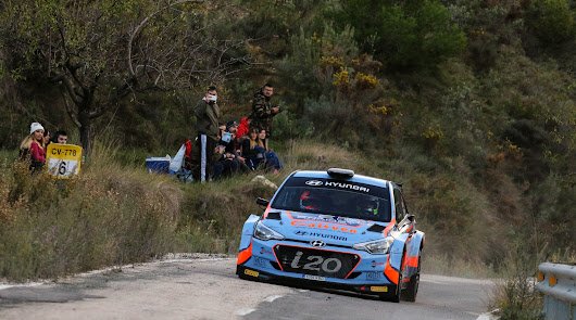 El campeonato de España de rallyes de asfalto se decide en Madrid