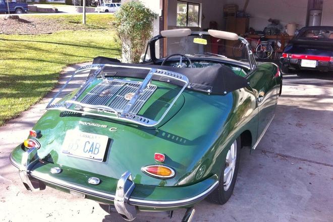 1965 356C Cabriolet Hire Paso Robles