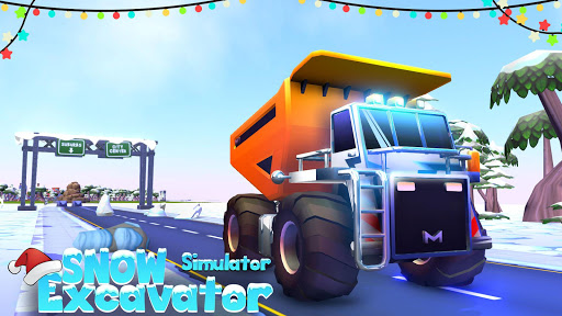 Heavy Snow Plow Excavator Simulator Game 2020 apkmr screenshots 12