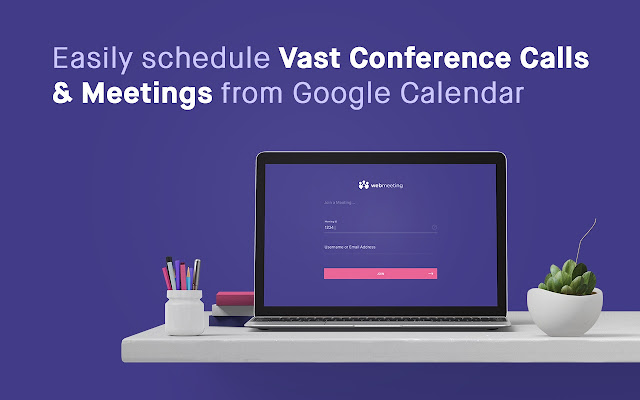 Vast Conference for Google Calendar