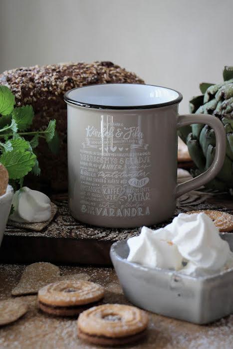 Majas Cottage Kärlek & Fika recept mugg