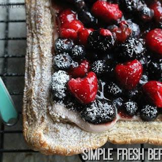 Simple Fresh Berry Tart
