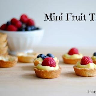 Mini Fresh Fruit Tart Recipes