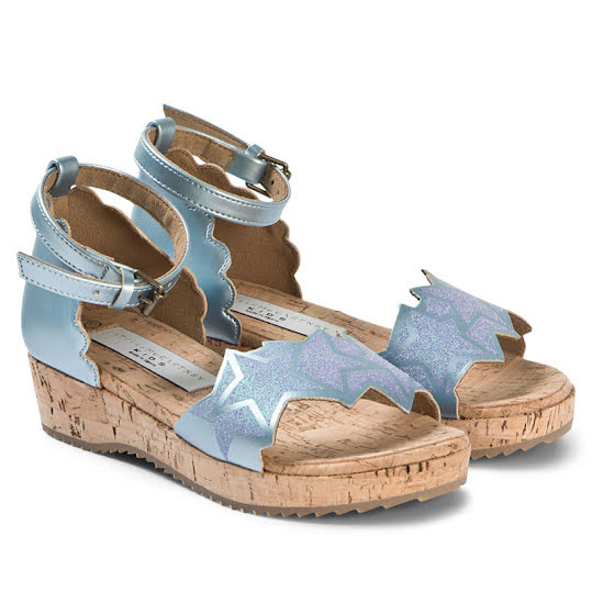 Stella Mccartney Kids Glitter Sandals Stl 36