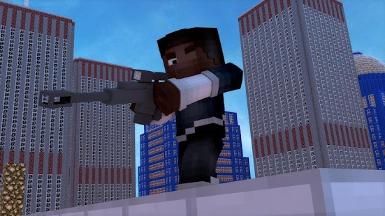 Guns Addon for Minecraft PE - náhled