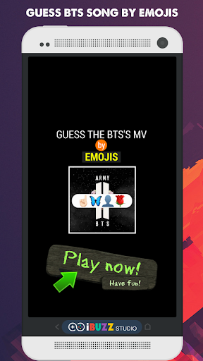 Guess BTS Song by Emojis Kpop Quiz Game 3.1.6z screenshots 1