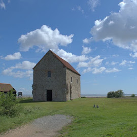 Bradwell on sea st cedds church by Mike Tricker - Buildings & Architecture Places of Worship ( church st cedd christian )