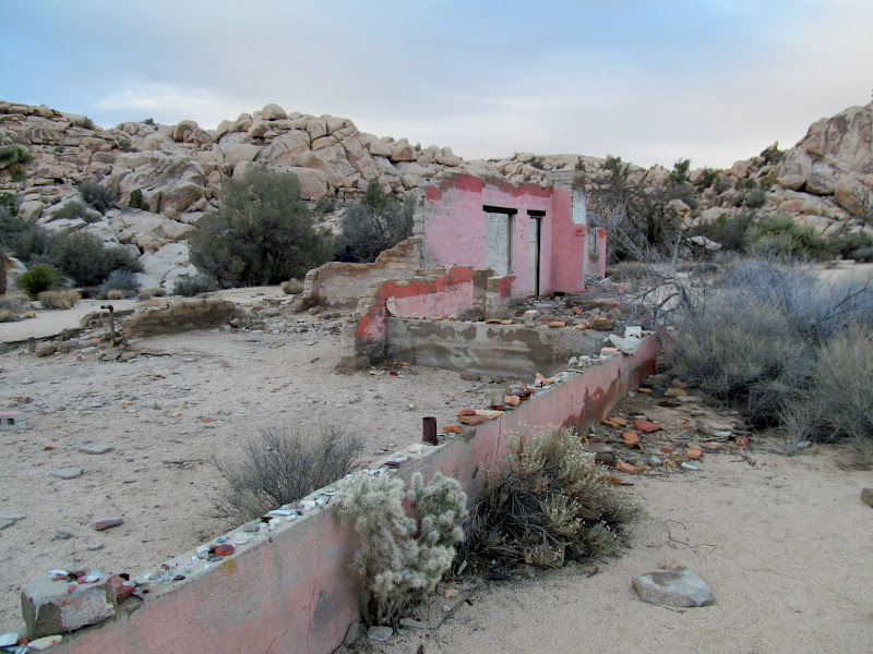 Photo: Queen Valley building ruins