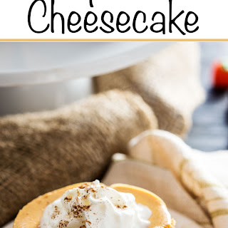Pumpkin Cookie Cheesecake