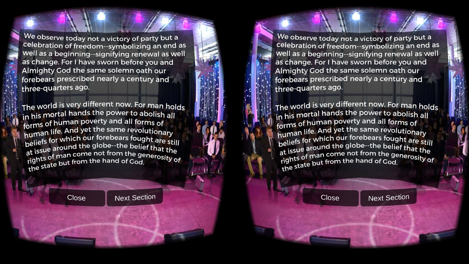 Public Speaking VR- screenshot