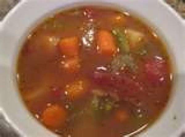 Steak Soup In The Crockpot Recipe