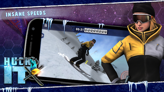 Huck It Skiing Game 3D- screenshot thumbnail