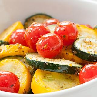Squash and Tomato Saute