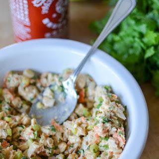 Sriracha Cilantro Chicken Salad.