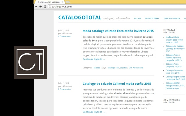 catalogototal news