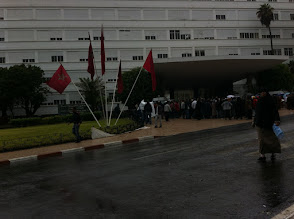Photo: Manif at Rabat