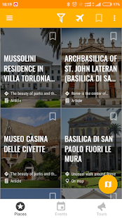 Rome Travel Map Guide in English with Events 2018- screenshot thumbnail