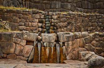 Photo: Inca fountains