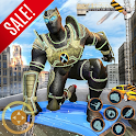 Super Hero Panther Robot Crime City Rescue Mission icon