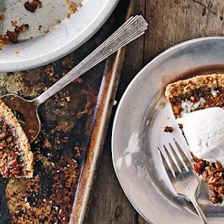 Sorghum-Bourbon Pecan Pie