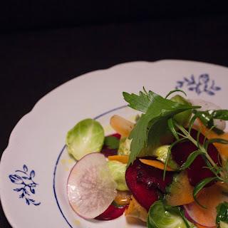 Crispy Root Vegetable Salad