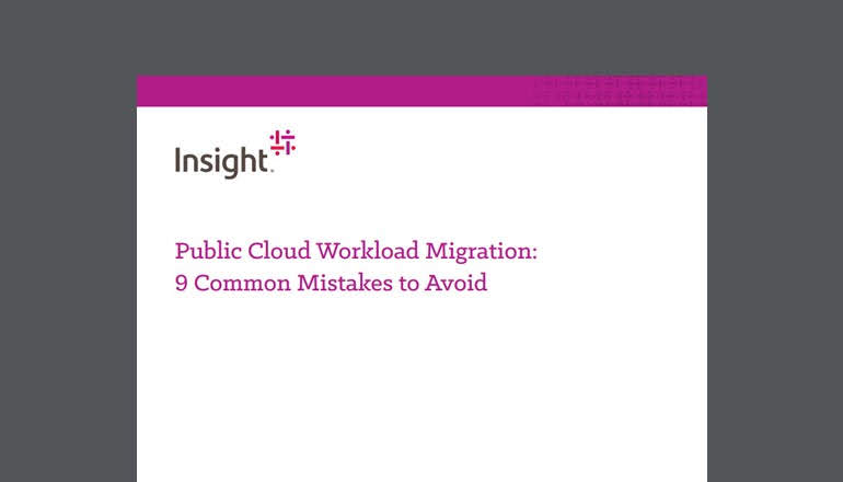 How to Avoid Most Common Public Cloud Workload Migration Mistakes
