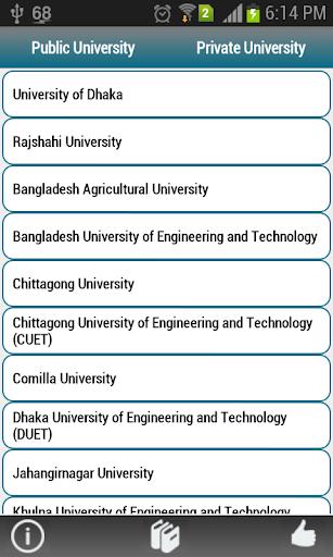 Bangladeshi Universities
