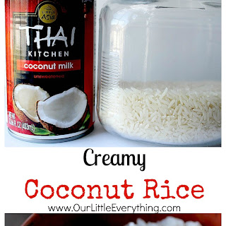 Creamy Coconut Rice.