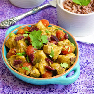 Sweet Potato Coconut Curry with Chicken and Bacon Recipe