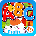 ABC Fruits English Flashcards icon