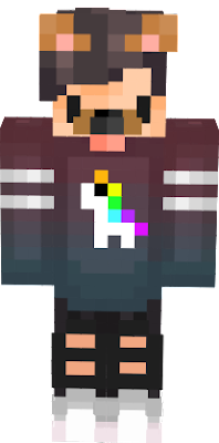 Unicorn Boy Nova Skin - Skins para minecraft pe boy