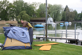 Photo: Day 33 - The Camp Site at Mammern on the Edge of Lake Zellersee # 2