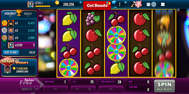 Diamonds Rush Slots - Vegas Casino Screenshot