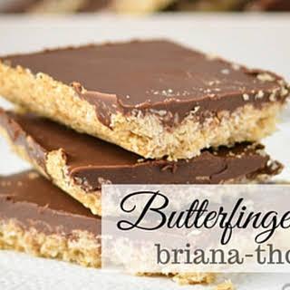 Butterfinger Bars.