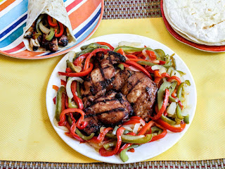 Sweet And Sour Grilled Teriyaki Chicken (fajitas) Recipe