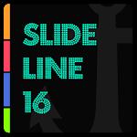 SlideLine 16 for Kustom v3.0