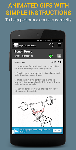 Gym Exercises 2.1 screenshots 18