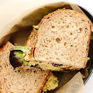 Vegan Curried Chickpea Salad.