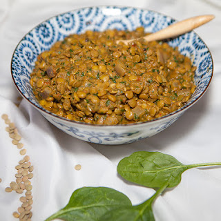 Vegan Green Lentil Curry Recipe