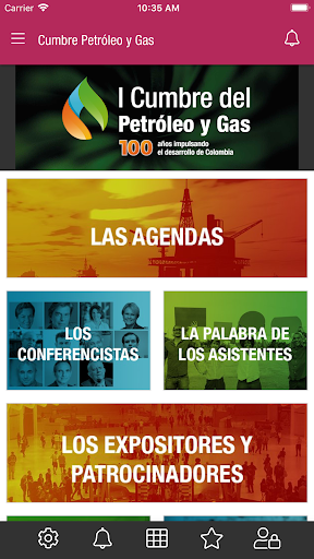 Cumbre de petroleo y gas screenshot 1