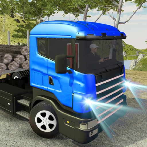 Truck Driver Off-Road Mountain Cargo driving game
