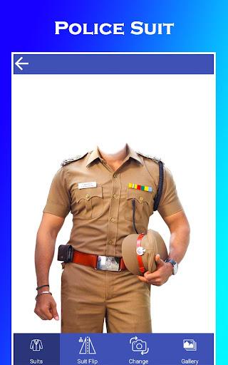 Men Police Suit Photo Editor 2020 1.0.17 screenshots 12