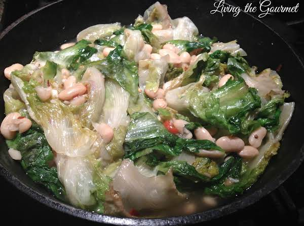 Cannellini Beans With Escarole And Spaghetti Recipe