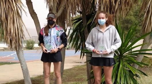 Daniel Lorenzo y Victoria Garrido se proclaman campeones provinciales de tenis