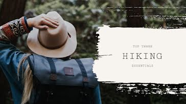 Top Hiking Essentials - YouTube Thumbnail Template