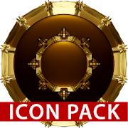 HAMOND gold - Icon pack black 3D