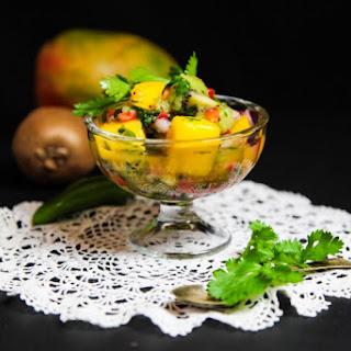 Mango Kiwi Coriander Salsa