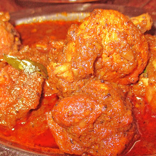 Kerala Nadan Chicken Curry.